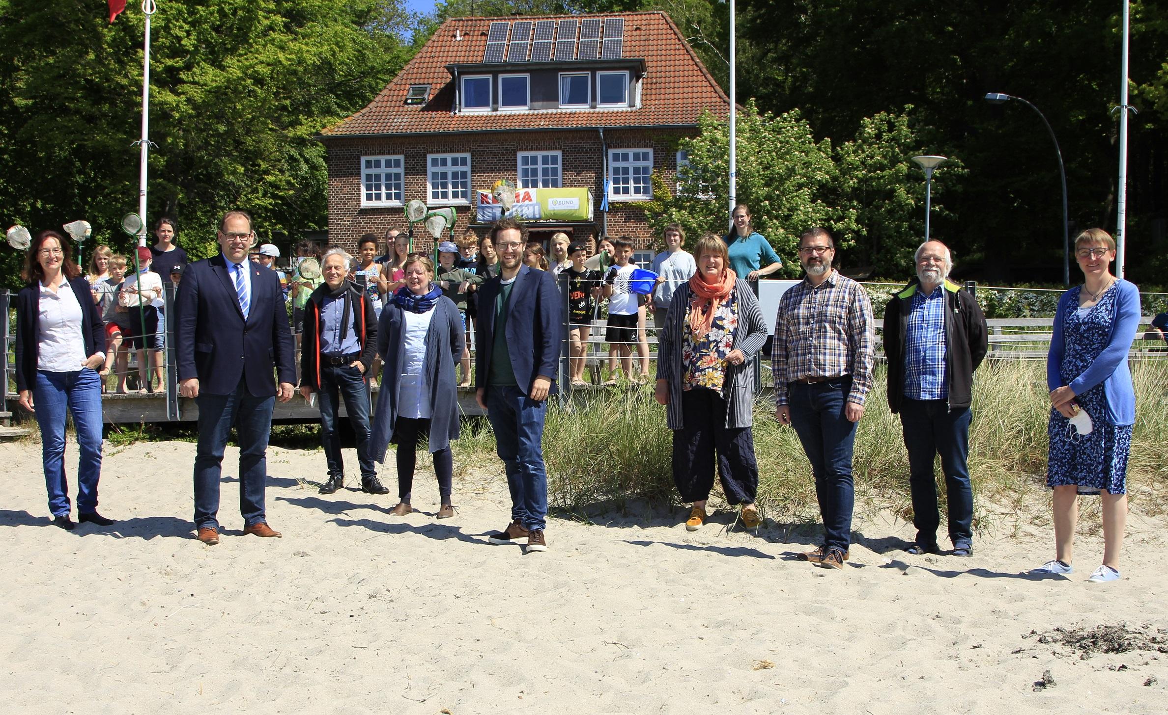 2021-05-31_BUND_Minister Albrecht besichtigt Umwelthaus Neustadt